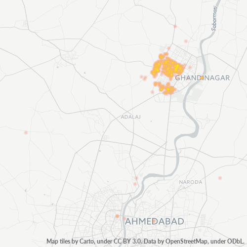 382016 Business Density Heatmap