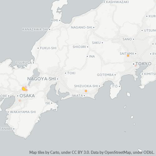 613 事業密度ヒートマップ