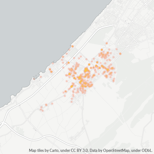 12000 Business Density Heatmap