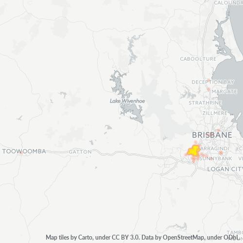 4074 Business Density Heatmap