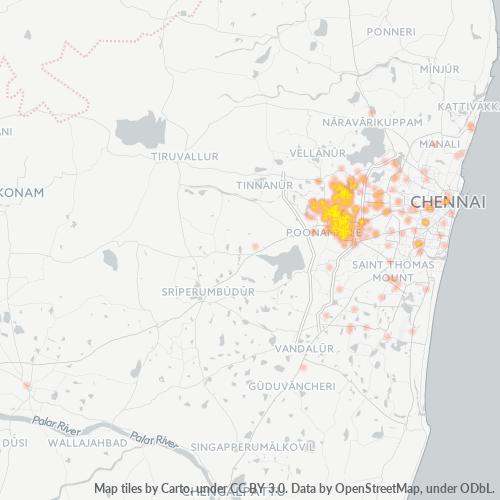 600077 Business Density Heatmap