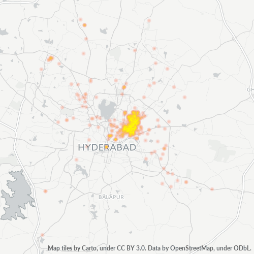 500044 Business Density Heatmap