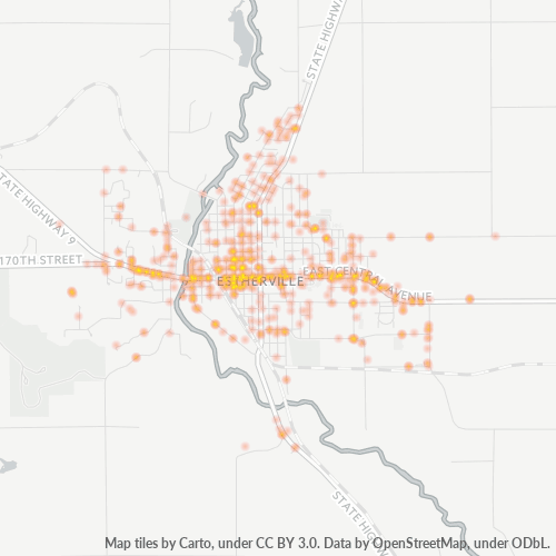 51334 Business Density Heatmap