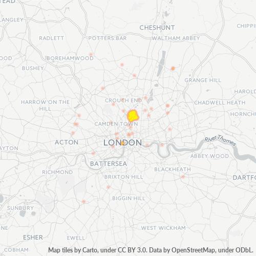 N5 Business Density Heatmap