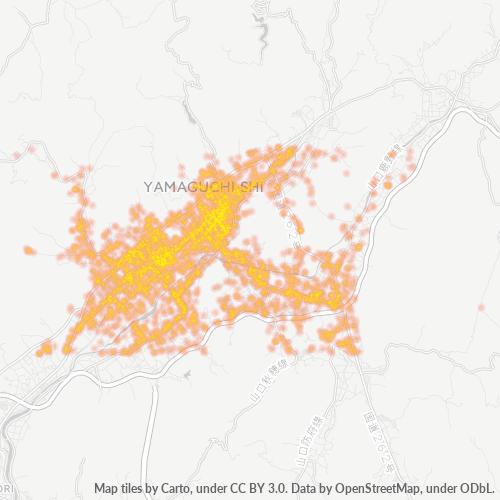 753 事業密度ヒートマップ