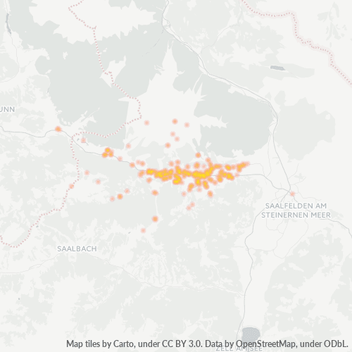5771 Standortdichte-Heatmap