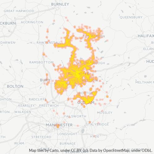OL1 Business Density Heatmap