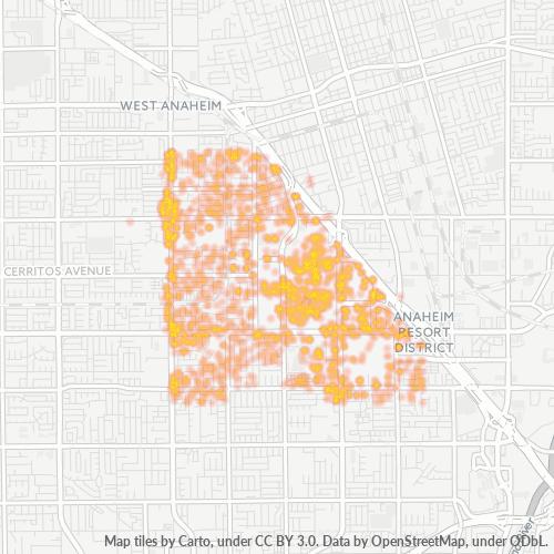 92802 Business Density Heatmap