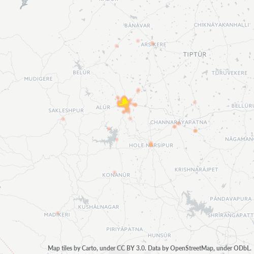 573201 Business Density Heatmap