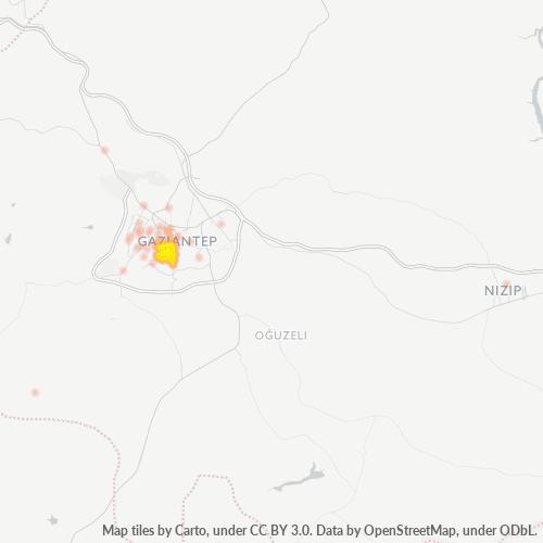 27200 Şirket Yoğunluğu Isı Haritası