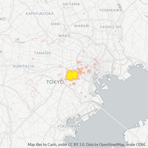 154 事業密度ヒートマップ