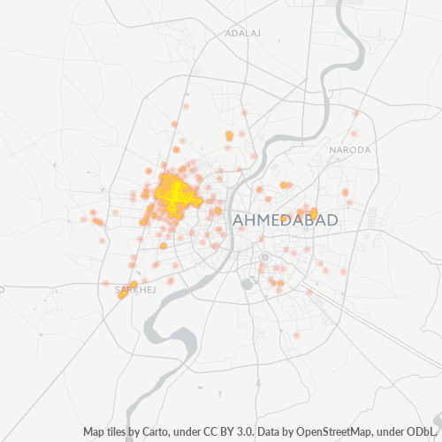 380052 Business Density Heatmap