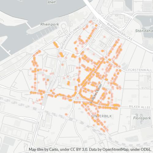 40219 Standortdichte-Heatmap