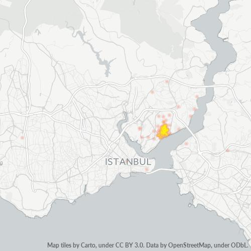 34357 Şirket Yoğunluğu Isı Haritası