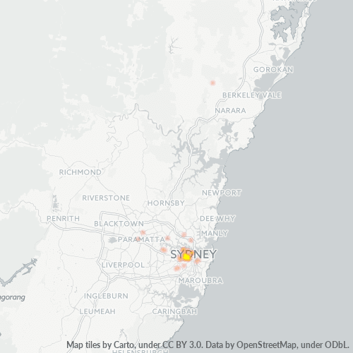 2037 Business Density Heatmap