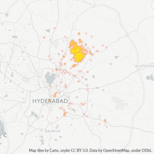 500056 Business Density Heatmap
