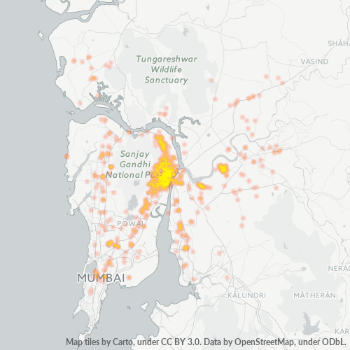 400601 Business Density Heatmap