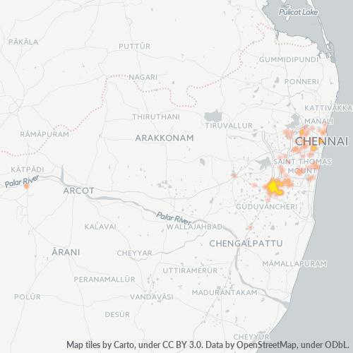 600063 Business Density Heatmap