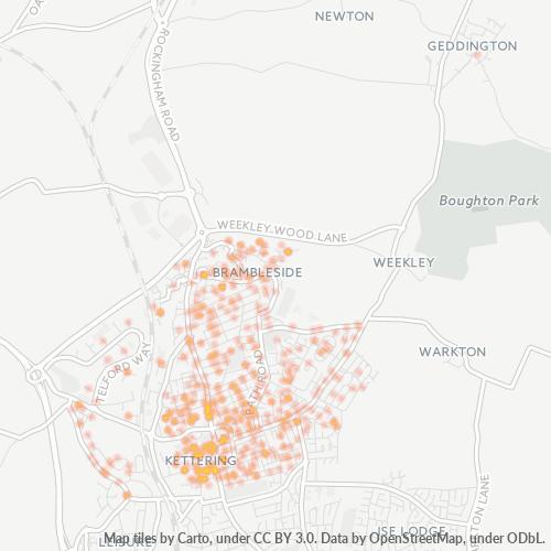 NN16 Business Density Heatmap