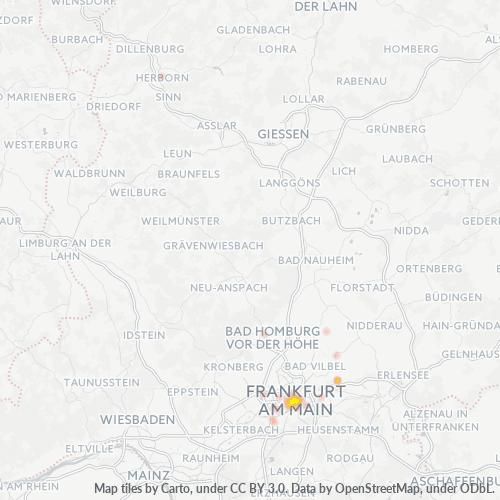 60313 Standortdichte-Heatmap