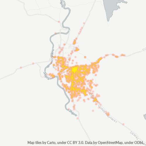456010 Business Density Heatmap