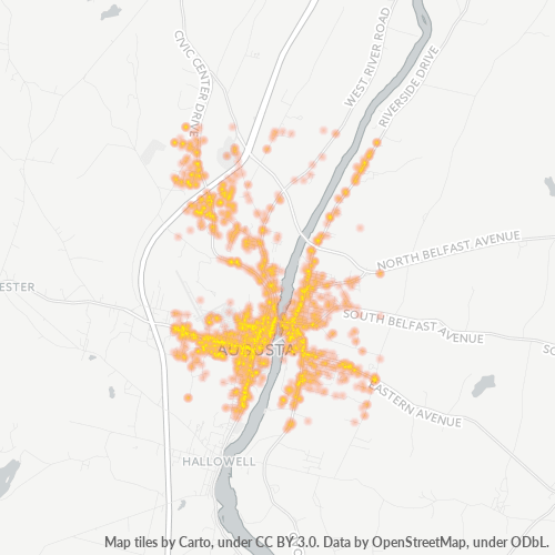 04330 Business Density Heatmap