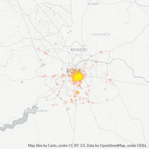 411042 Business Density Heatmap