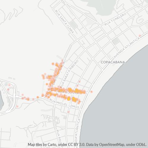 22061-000 Heatmap de Densidade da Empresa
