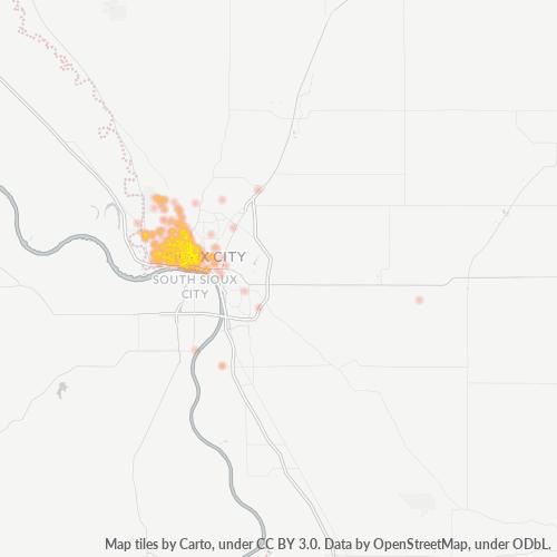 51103 Business Density Heatmap