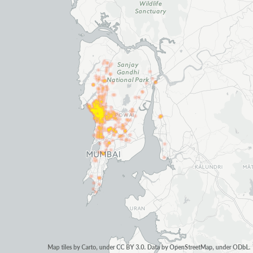 400058 Business Density Heatmap
