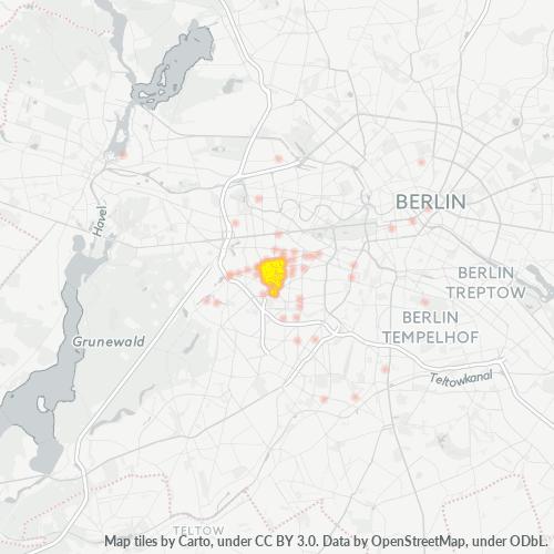10707 Standortdichte-Heatmap