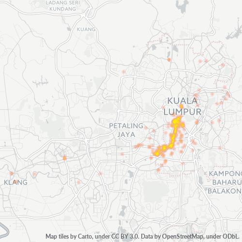 58000 企业密度热图