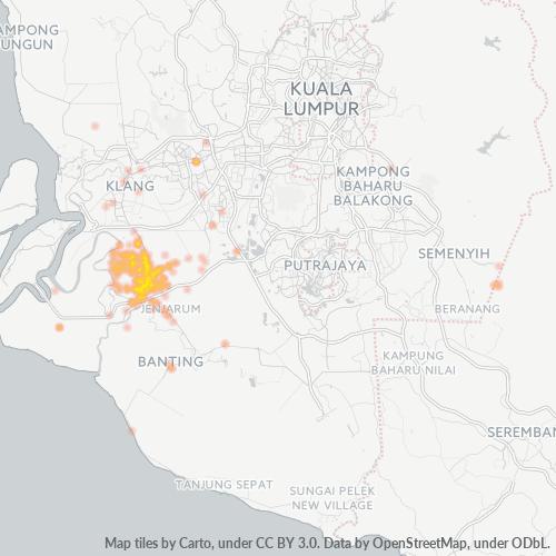 42500 企业密度热图