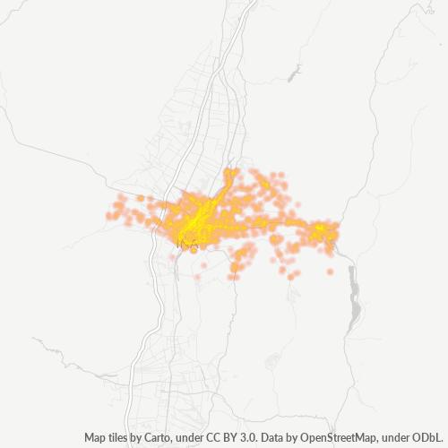 396 事業密度ヒートマップ