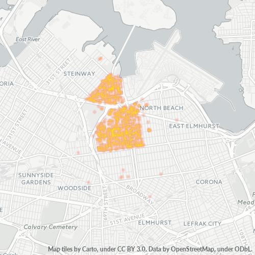 11370 Business Density Heatmap
