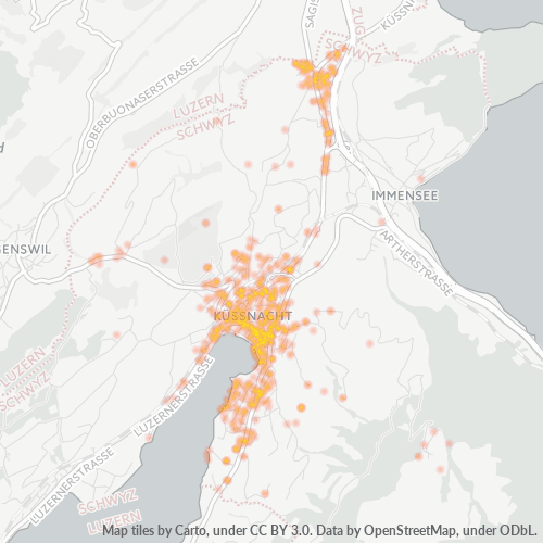 6403 Standortdichte-Heatmap