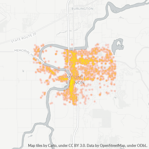 98273 Business Density Heatmap