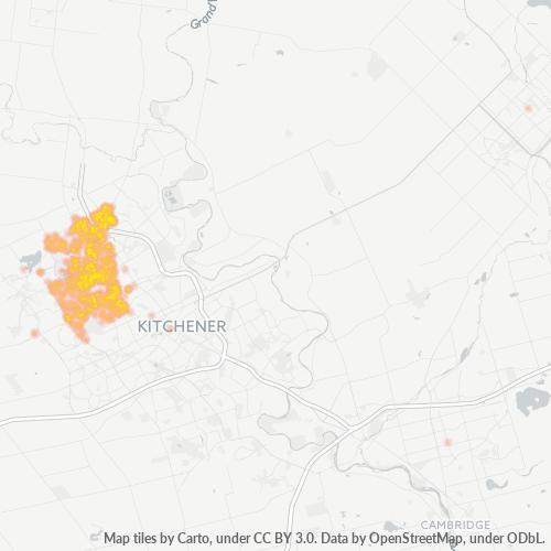 N2L Business Density Heatmap