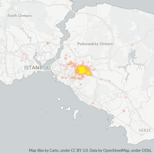 34775 Şirket Yoğunluğu Isı Haritası