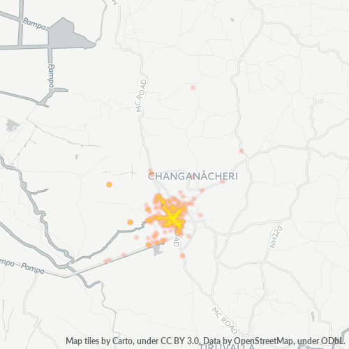 686101 Business Density Heatmap