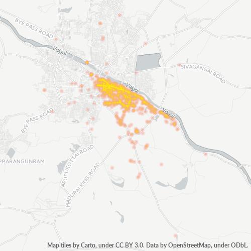 625009 Business Density Heatmap