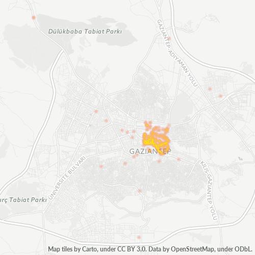 27400 Şirket Yoğunluğu Isı Haritası