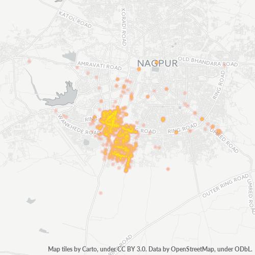 440015 Business Density Heatmap