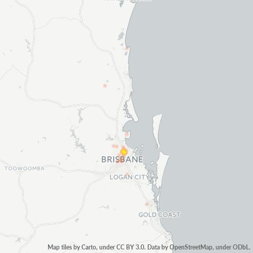 4012 Business Density Heatmap