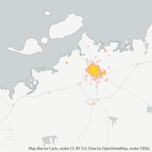 361008 Business Density Heatmap