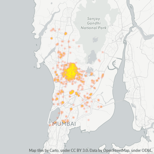 400093 Business Density Heatmap