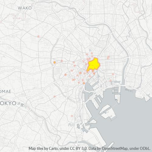 103 事業密度ヒートマップ