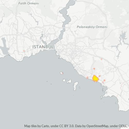 34893 Şirket Yoğunluğu Isı Haritası