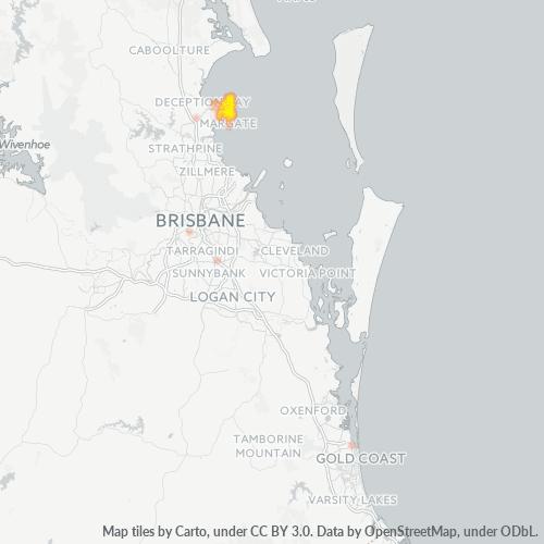 4020 Business Density Heatmap