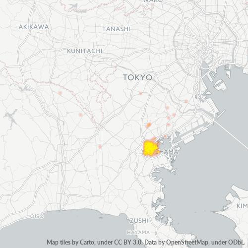 220 事業密度ヒートマップ